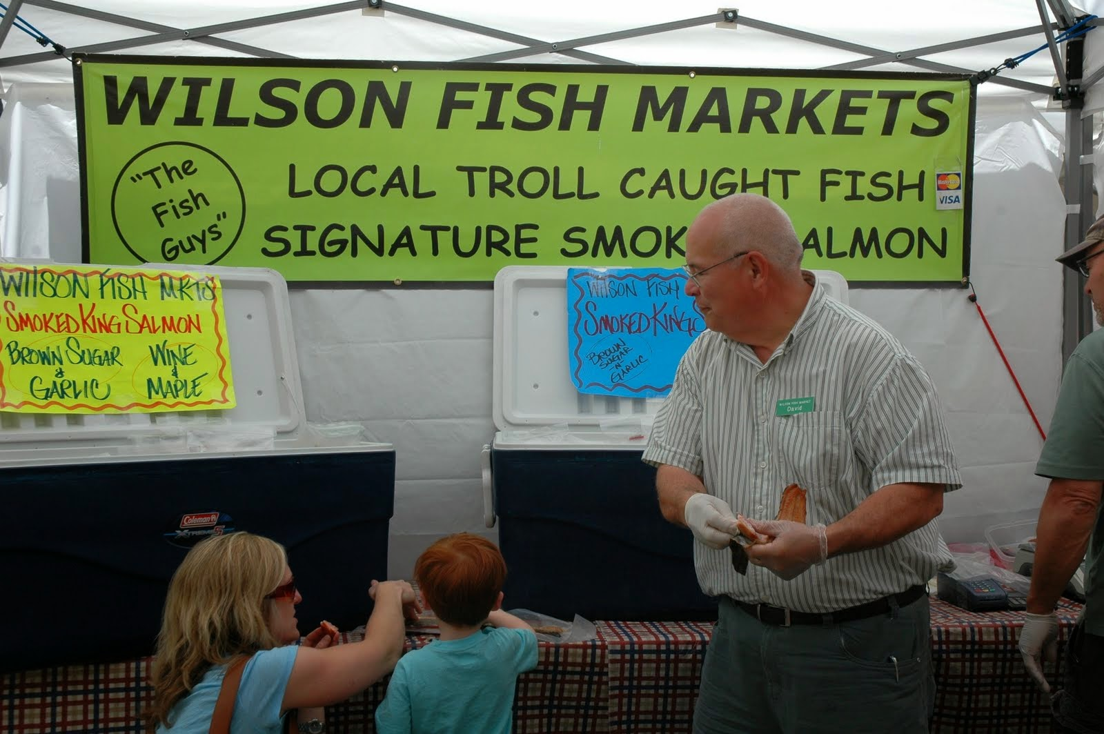 "No, our favorite Fremont-dweller has not picked up a new hobby--""Troll"" refers to a style of fishing. But barring a giant concrete fisherman, the seafood is as local as it gets. Wilson Fish Markets sells halibut and king salmon caught right off the coast of Washington."