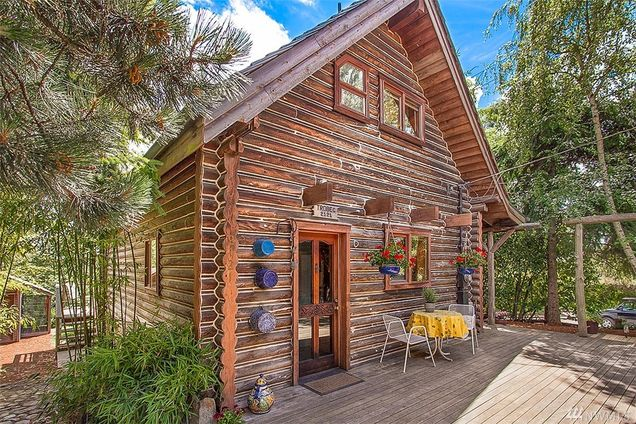 a log cabin on the seattle frontier real estate galsreal